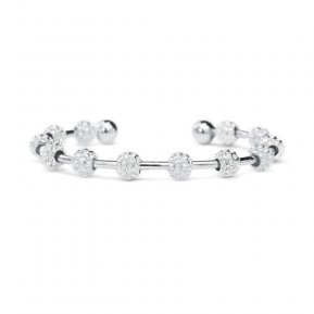 Golf Goddess Golf Ball Bead Stroke Counter Bracelet - Silver