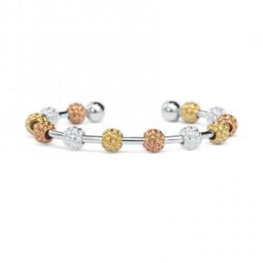 Golf Goddess Golf Ball Bead Stroke Counter Bracelet - Tricolor
