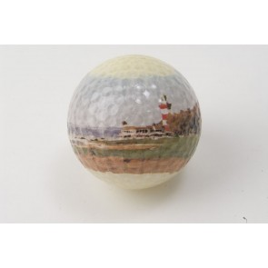 Go Low Golf Scenic Logo Ball - Harbour Town Golf Links 18th Hole